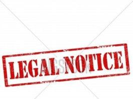 cedar hill legal notice