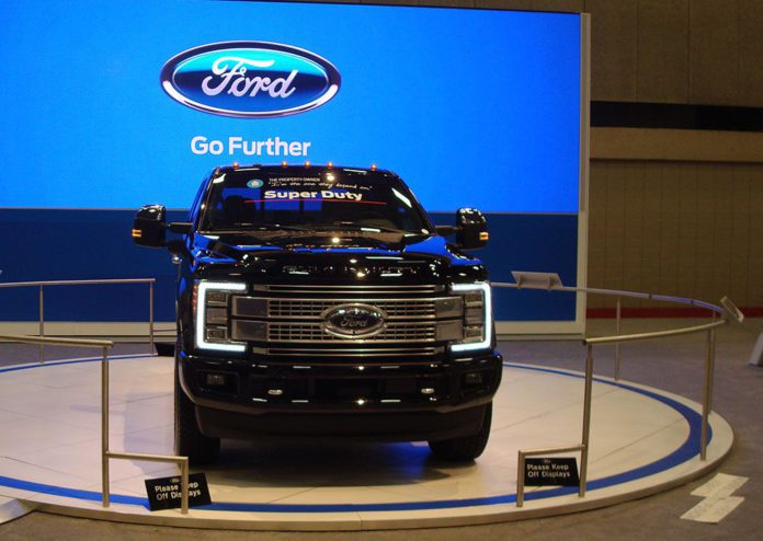 2016 Dallas Auto Show 2017 Ford F250