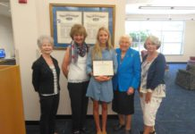Local Daughters Of The American Revolution Present Scholarship