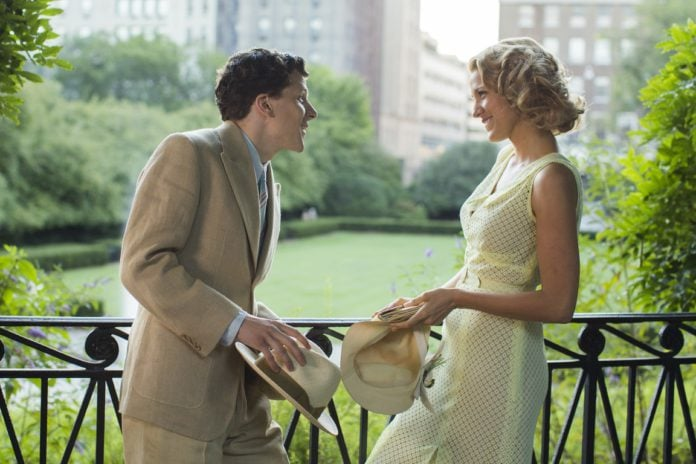Cafe Society Jesse Eisenberg and Blake Lively