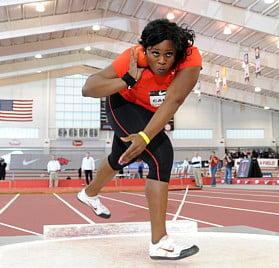 Michelle Carter Olympian from Red Oak