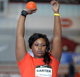 Michelle Carter Shot Put Olympian