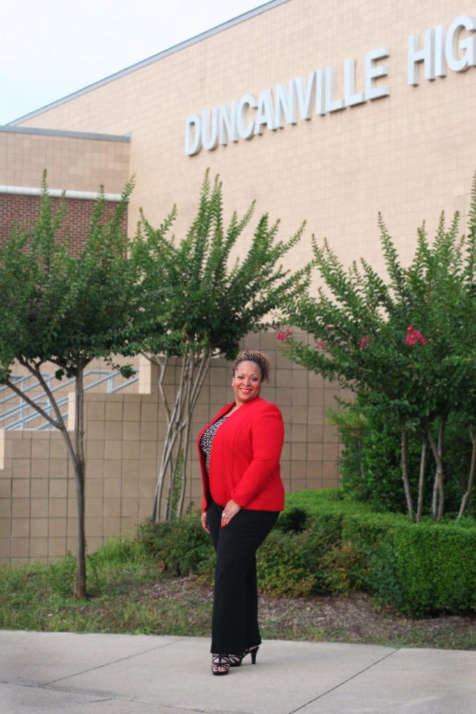 Tia Simmons Duncanville High School Principal