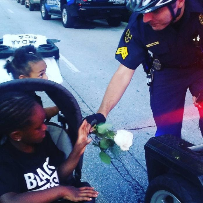 Dallas Police Shooting restores faith in humanity