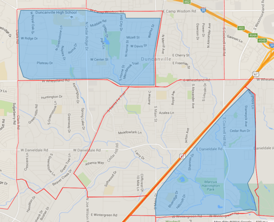duncanville West Nile Spraying