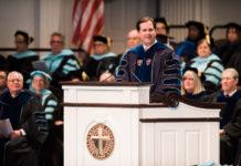 Dallas Baptist University summer commencement