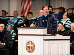 Dallas Baptist University summer commencement