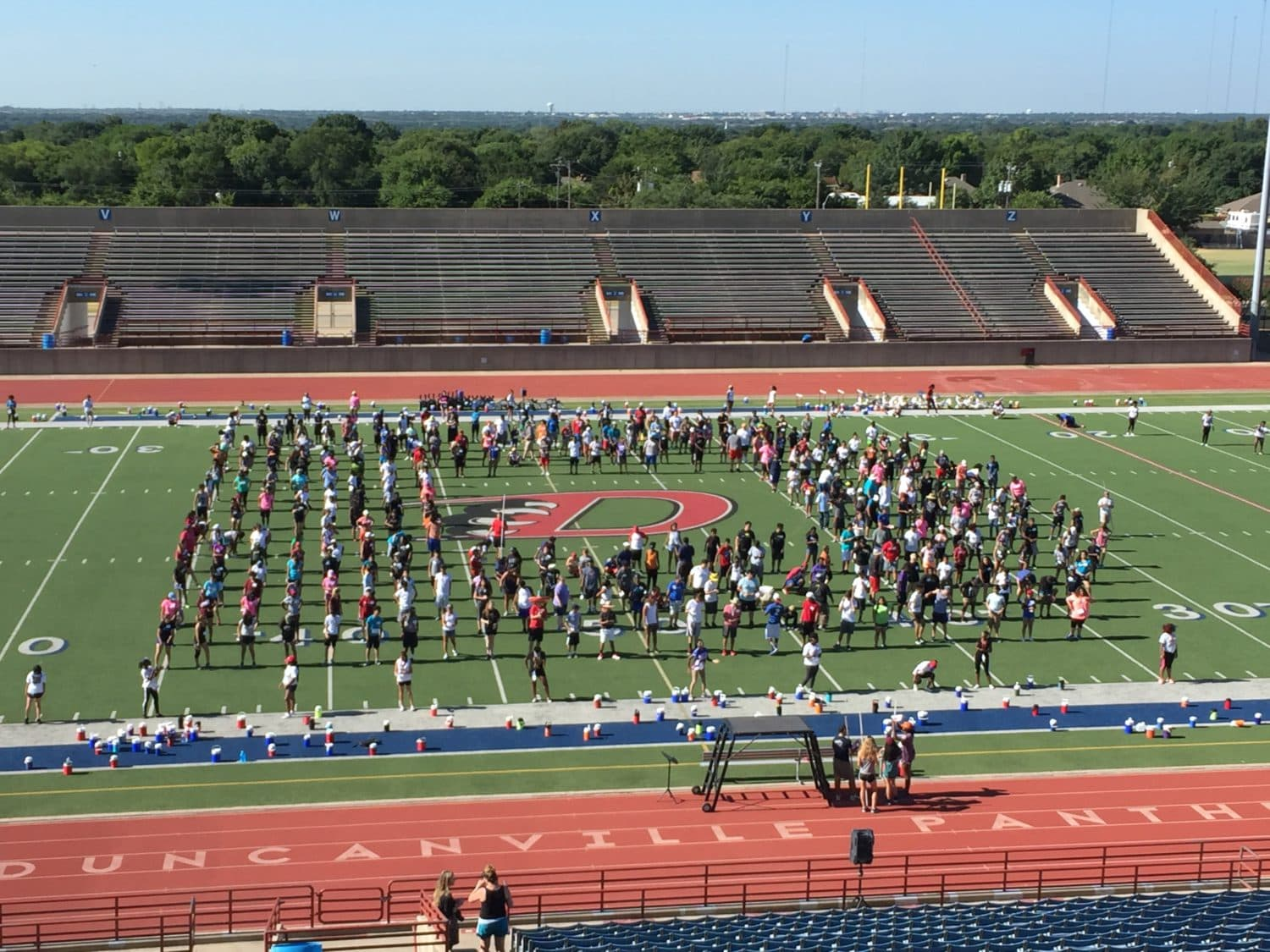 Duncanville Marching Band Prepares For Upcoming Season