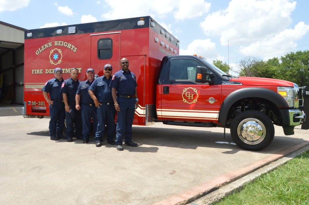 Glenn Heights FD Dedicates New Ambulance