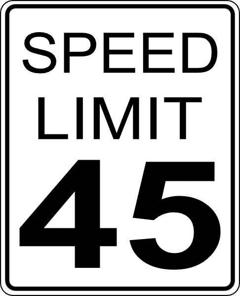 Highway 67 Speed Limit