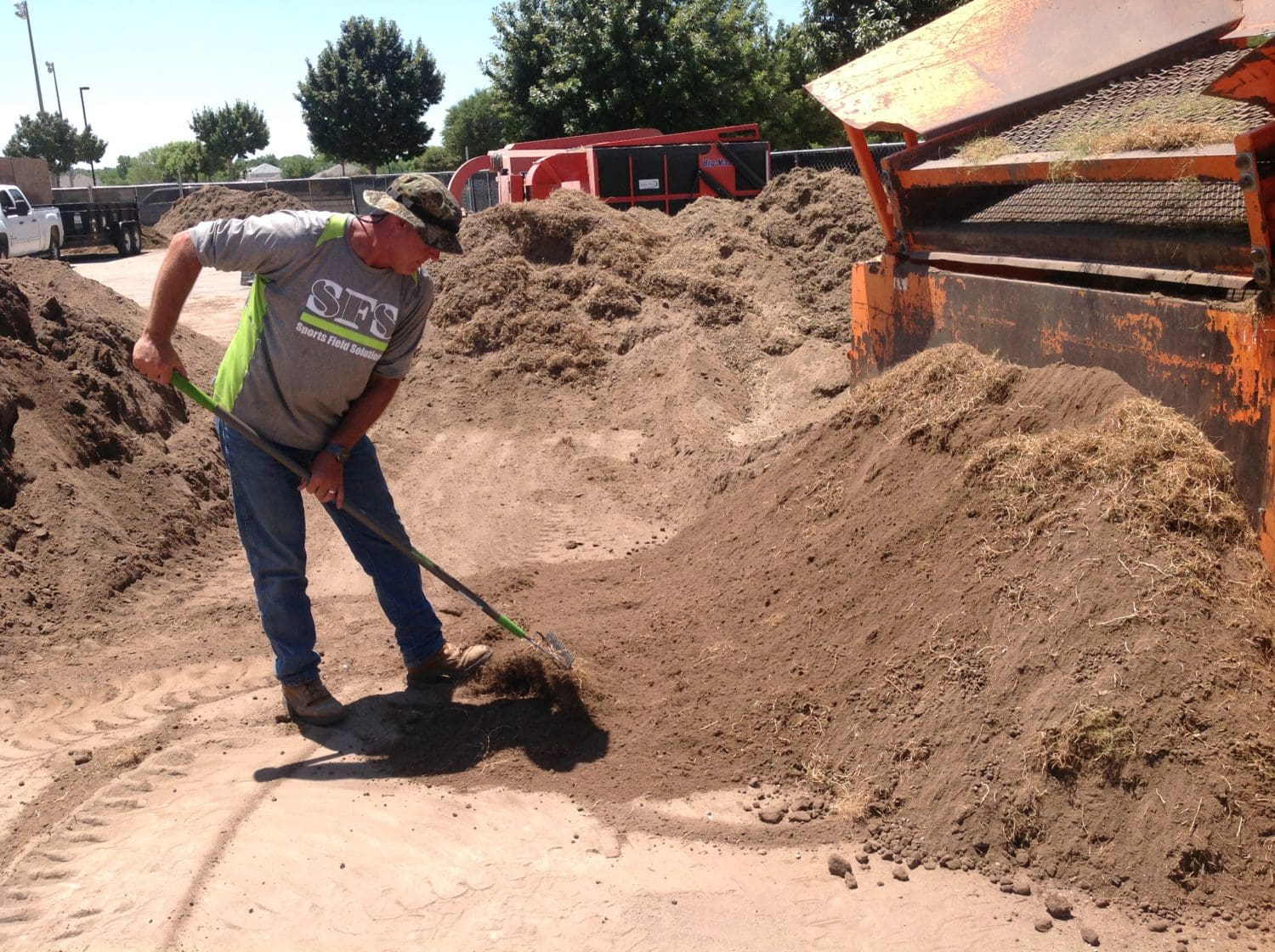 Meadow Creek Park Clean Up Continues After Tornadoes