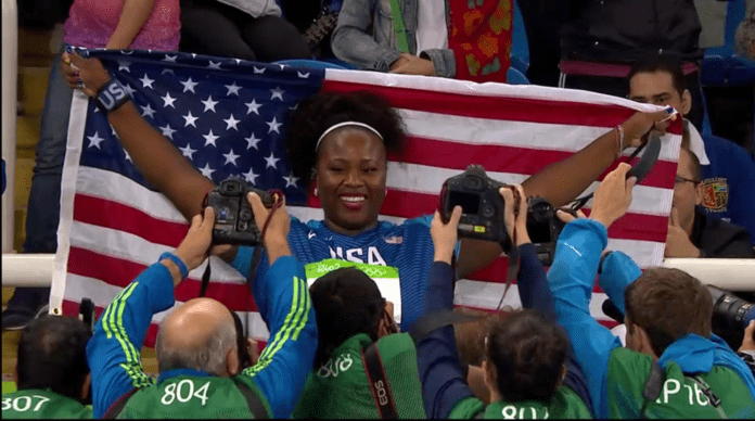 Michelle Carter Hometown Olympian Makes Sports History