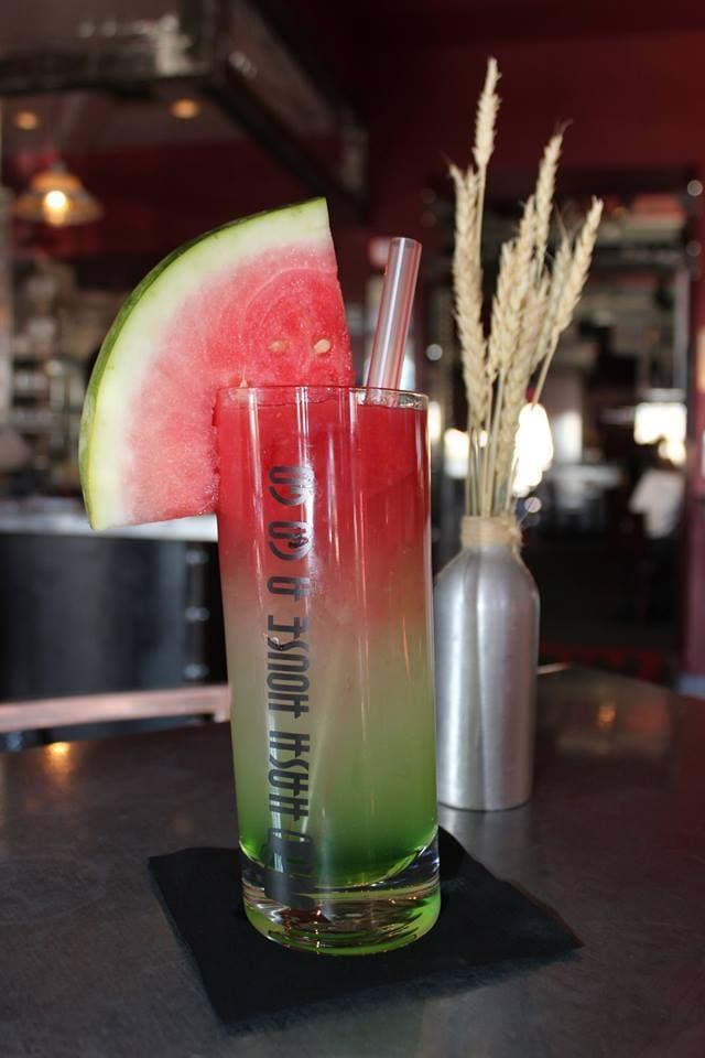Spiked Kiwi Watermelon Lemonade hash House A Go Go