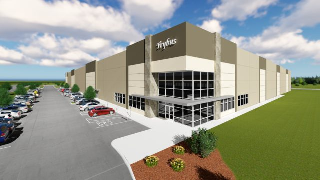 Trybus Breaks Ground On DeSoto Distribution Center