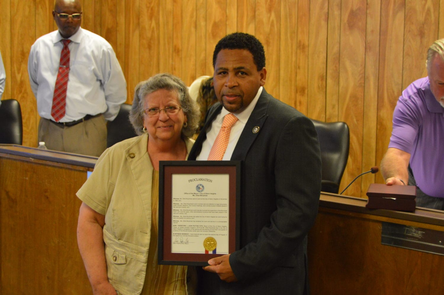 Glenn Heights Honors City Secretary Othel Murphree For 25 Years Of Service