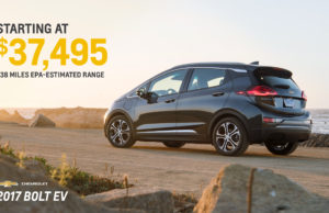 Chevrolet Bolt Price
