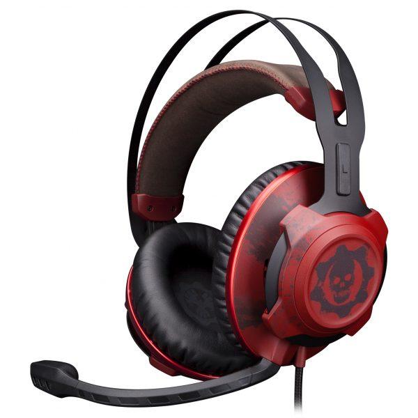 hyperx gears of war gaming headset