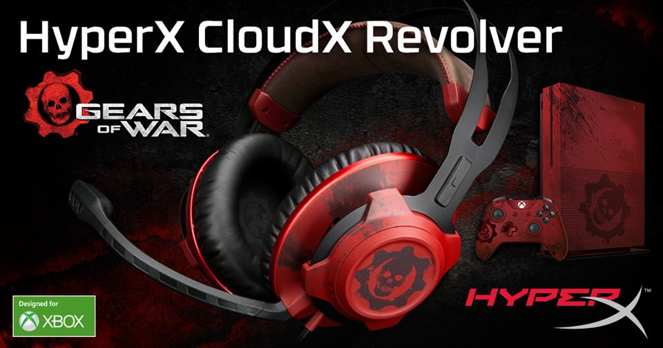 hyper x gears of war xbox one headset