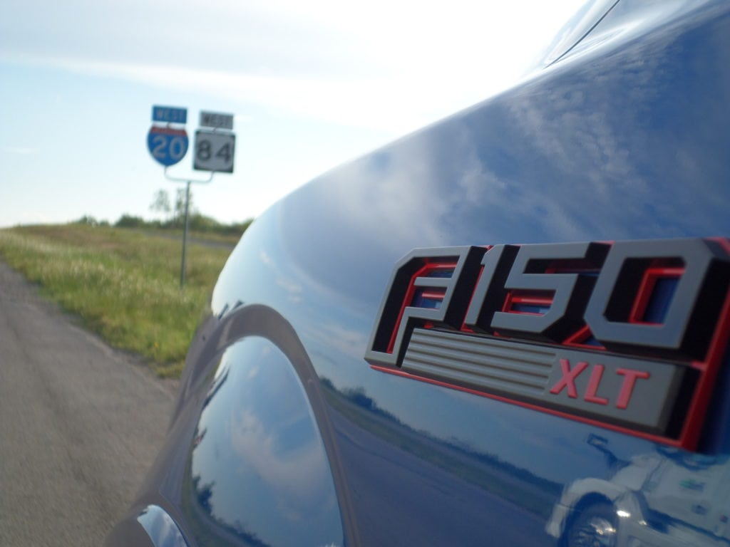 The 2016 Ford F-150 proved itself on the open road from Lancaster to Lubbock in just under five hours and consuming only half a tank of fuel.