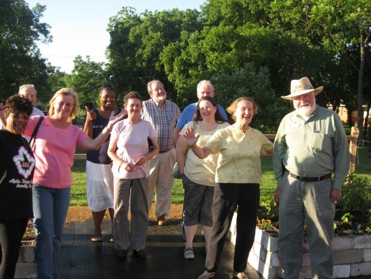 Zula B. Wylie Public Library Community Garden