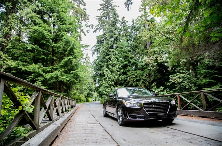 2017 Genesis G90 Auto Judge Luxury Car of the year
