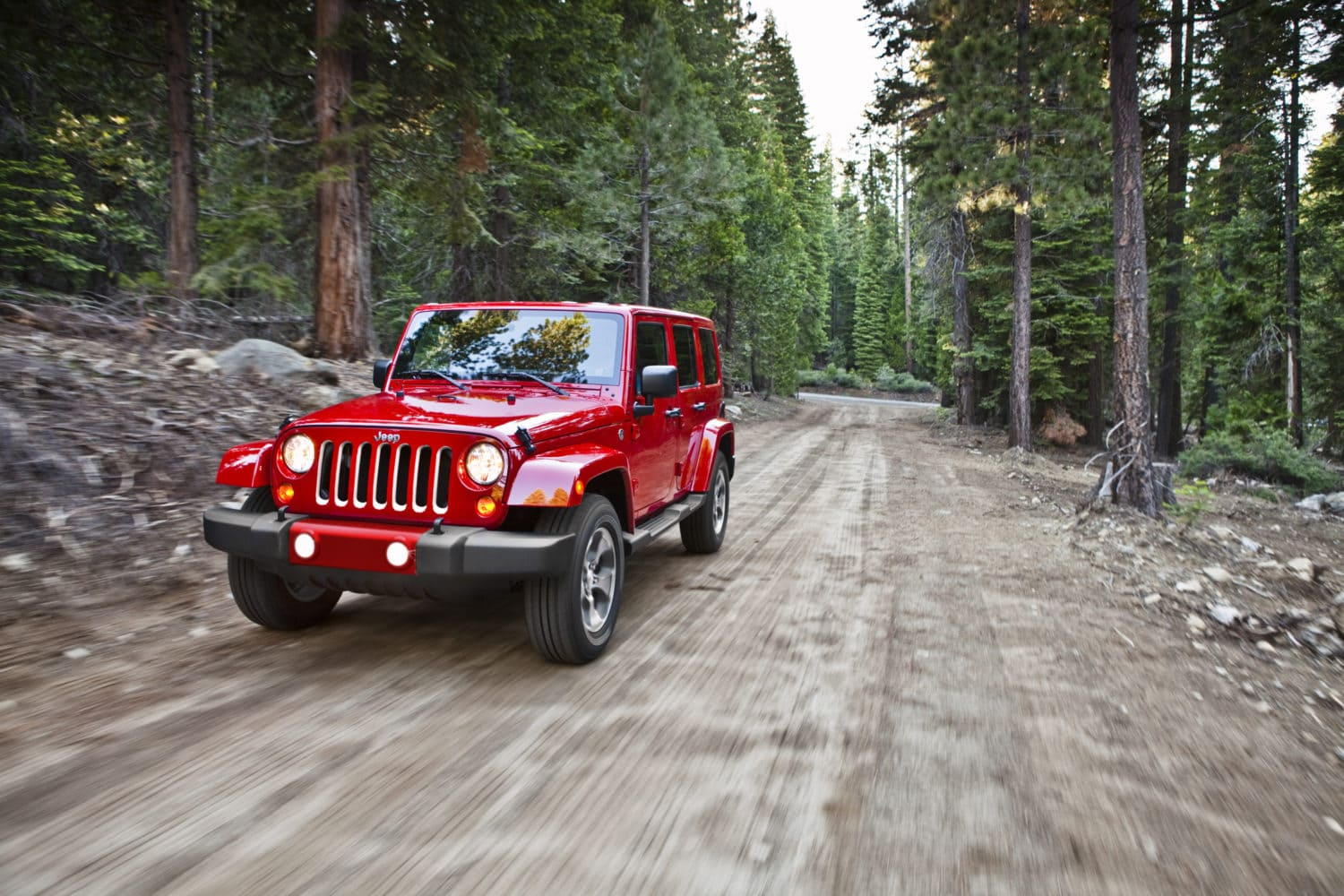 2017 Jeep® Wrangler Unlimited Sahara. The off-road champion remains so!