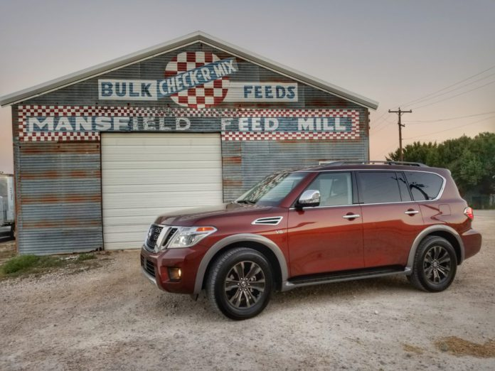 2017 Nissan Armada SUV of Texas