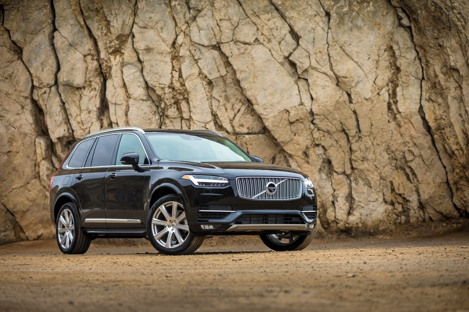 The new Volvo XC90 repeats in the Texas Truck Rodeo.
