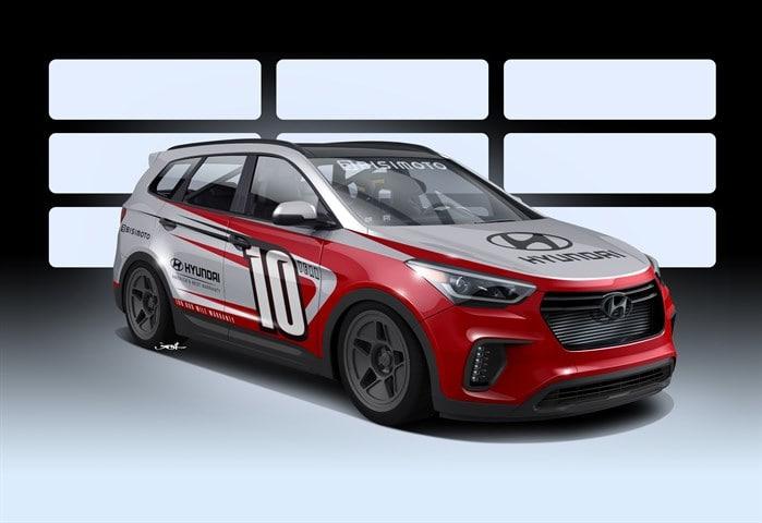 Hyundai Santa Fast
