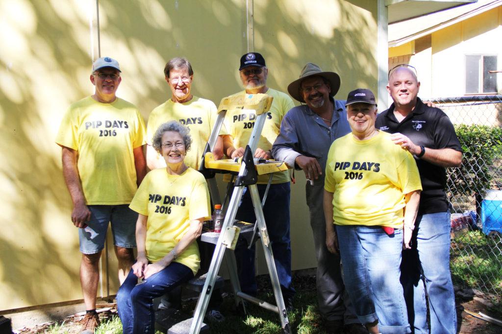 September Property Improvement in Progress volunteer group.