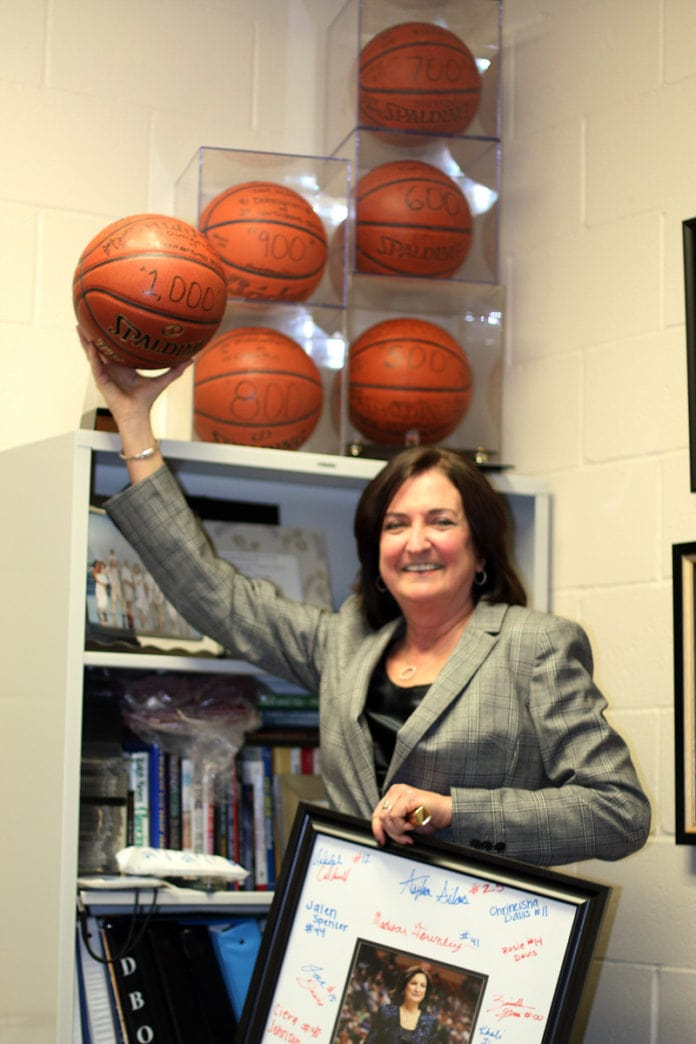 Duncanville ISD Athletic Director Cathy Self-Morgan