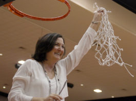 girls basketball coach Cathy self-morgan