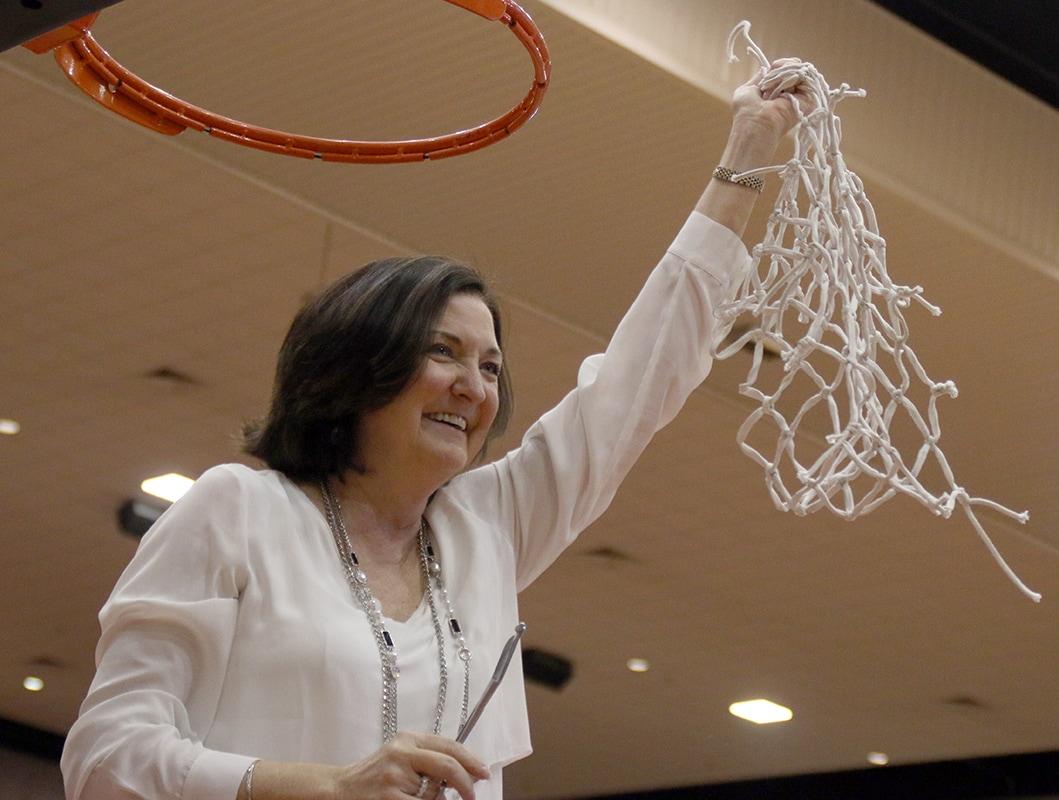 girls basketball coach Cathy self-morgan
