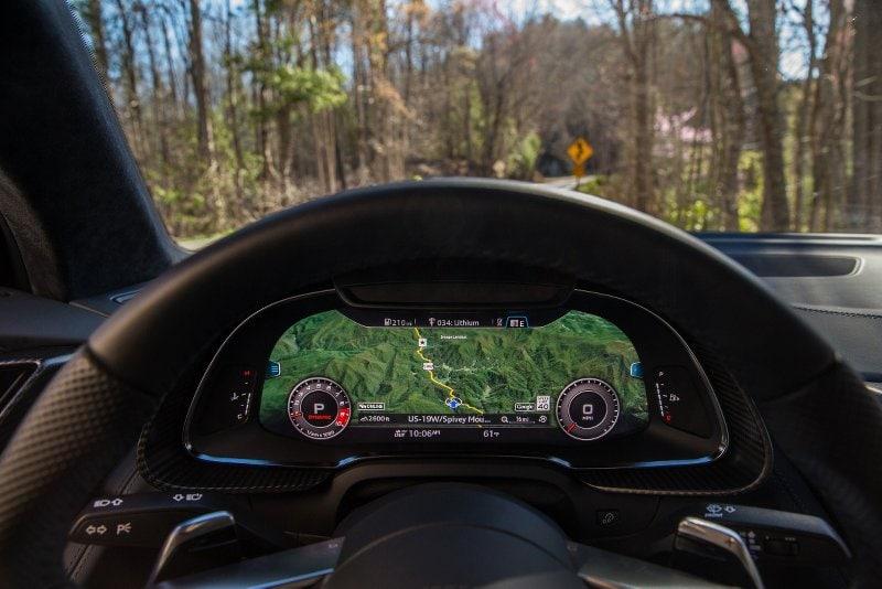 2017 Audi r8 virtual cockpit