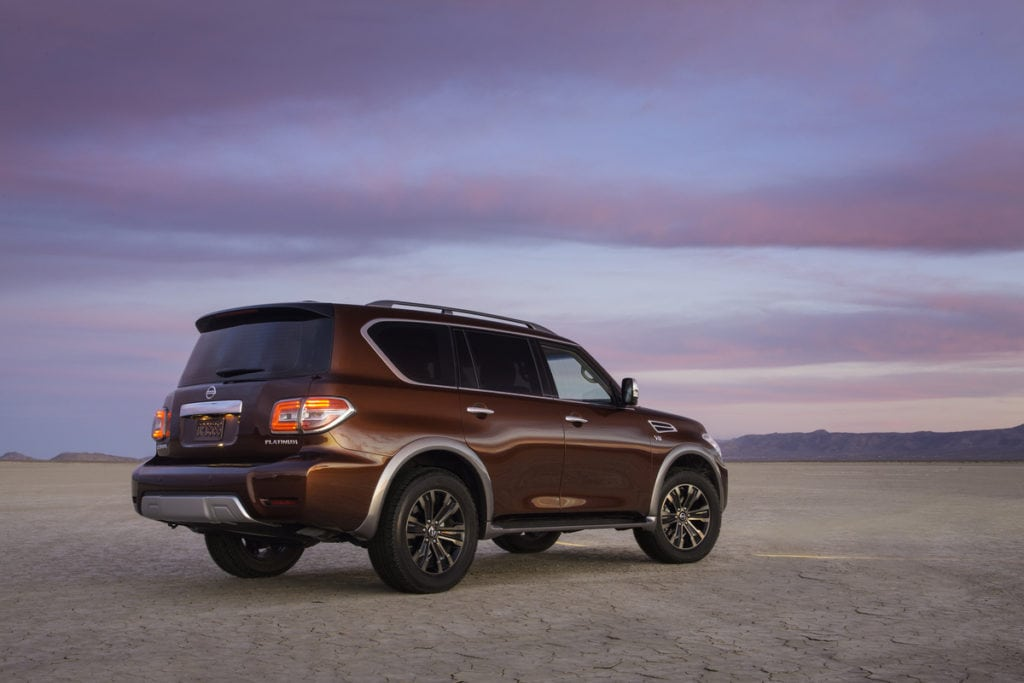 2017 Nissan Armada Suv of the Year