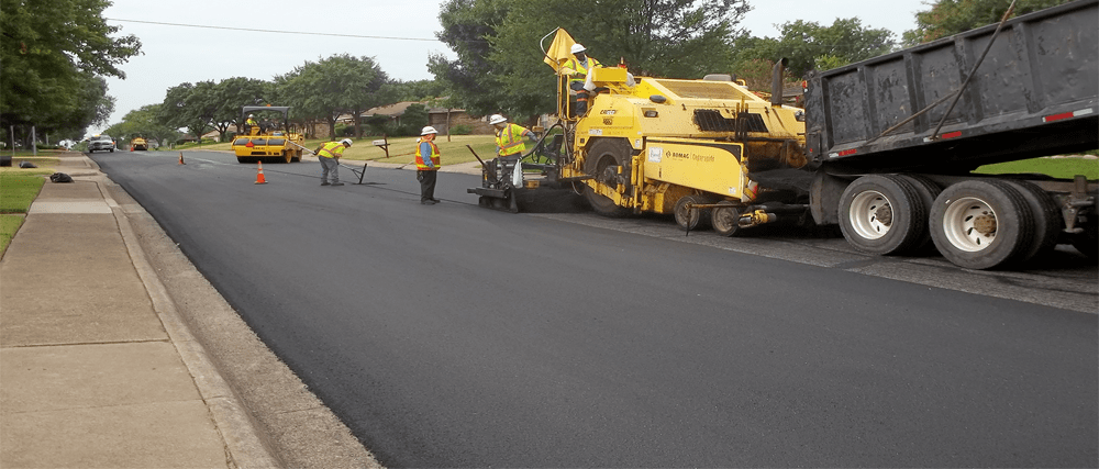 Duncanville Public Works Department puts the finishing touches on Water/Wastewater Improvements Project along Roma Drive between Greenstone Lane and West Ridge Drive.