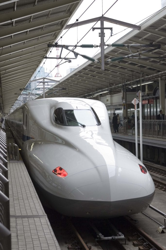 The company plans to use trains that are based on the N700 Series Shinkansen.