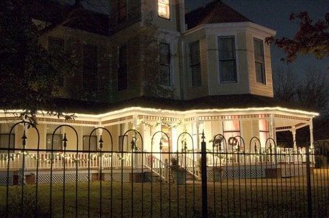 This American Victorian style home was the Preview Party Host during the 2009 tour.