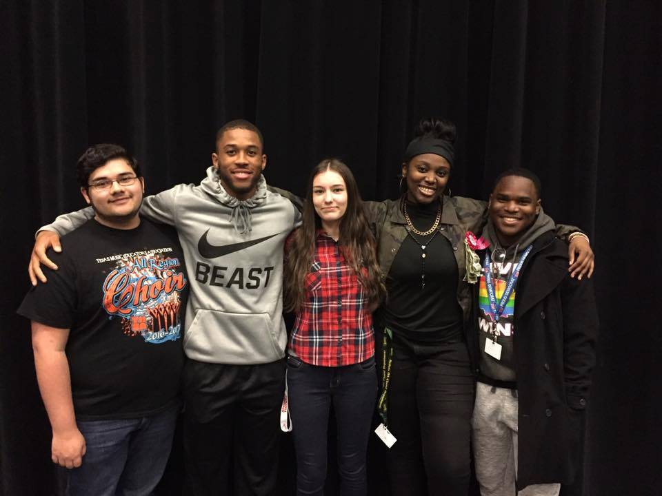 Desoto High school all-state choir members