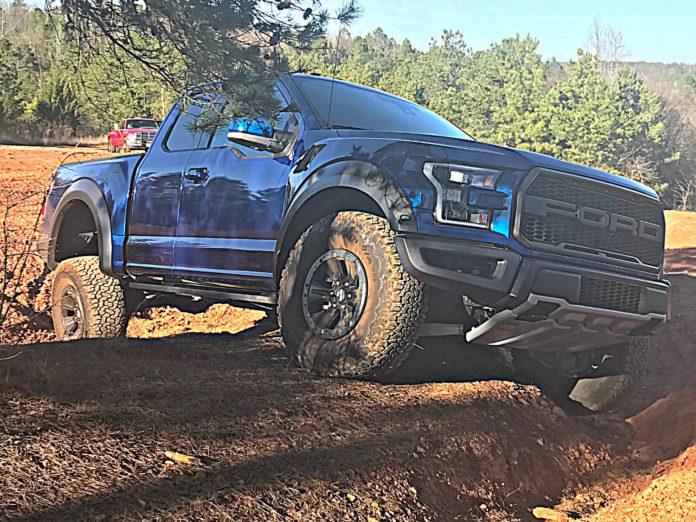 Ford Raptor Articulation