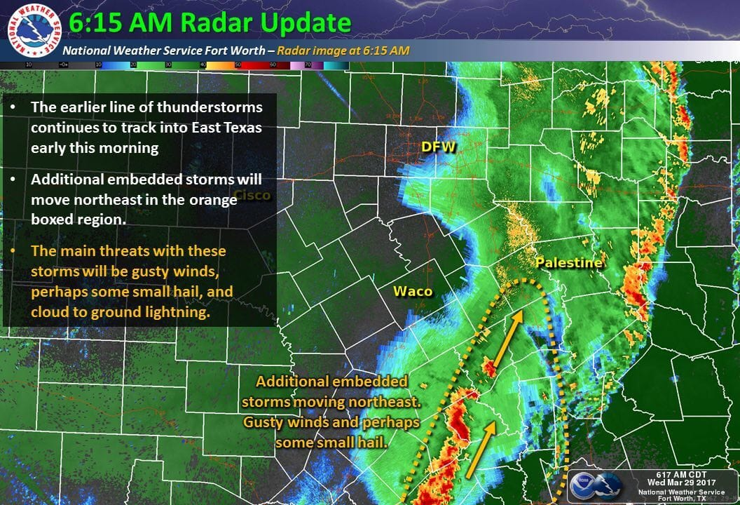 Severe Early Morning Storms Wreak Havoc In DFW - Focus Daily