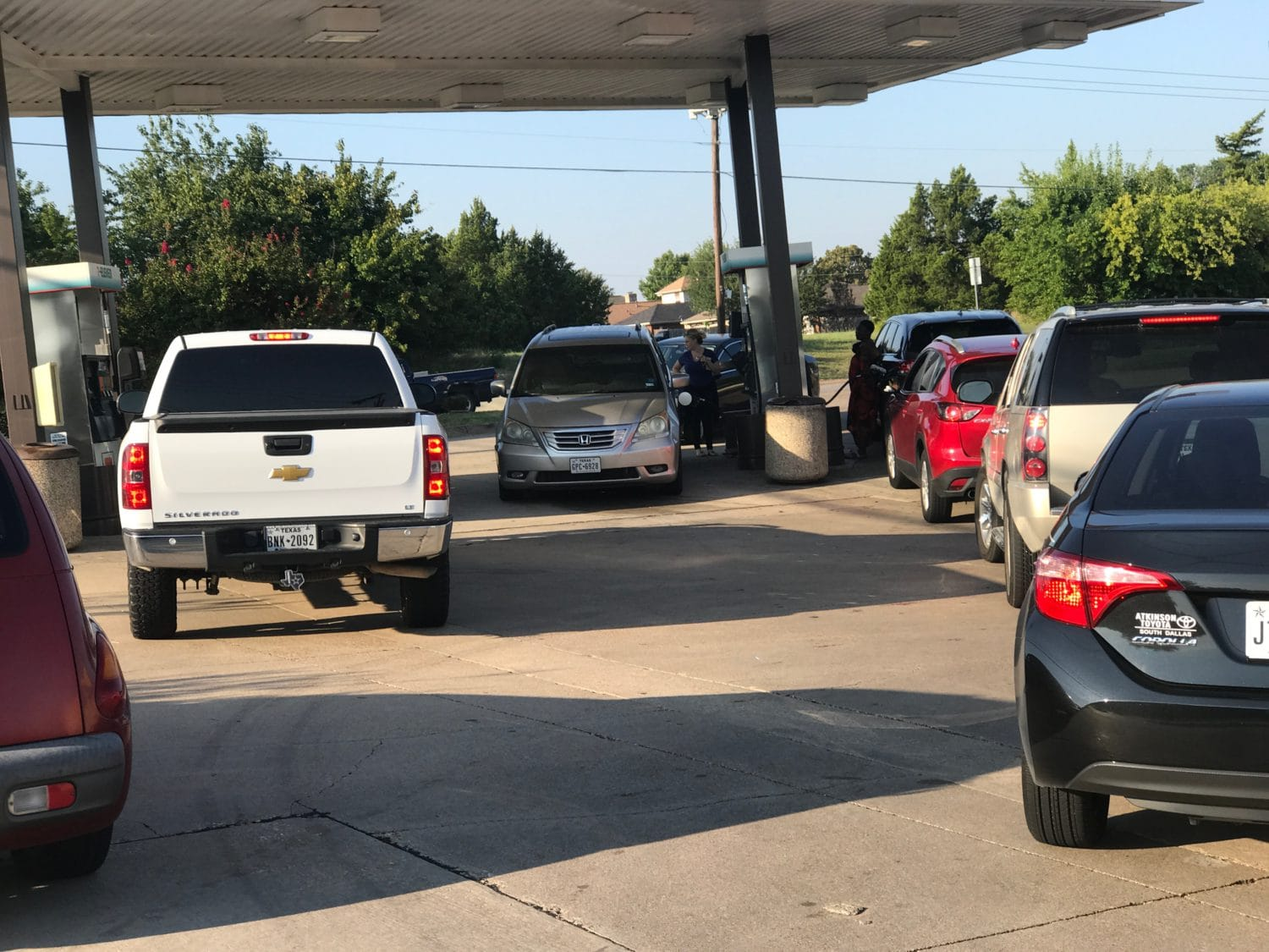 DeSoto Gas Shortage