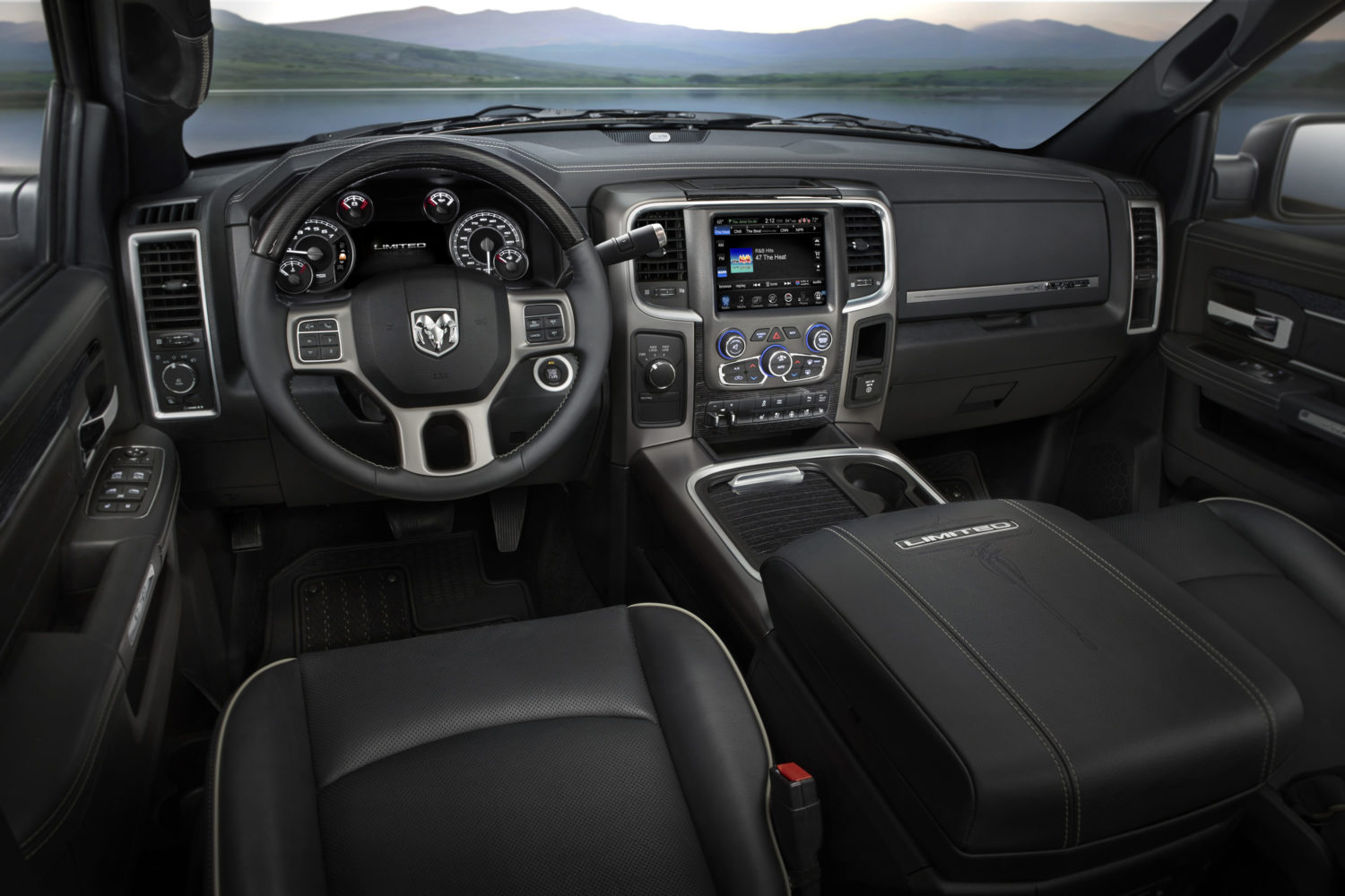 2017 Ram Heavy Duty Laramie Limited Interior