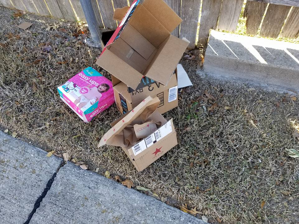 package thefts