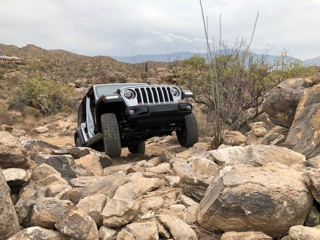 Jeep Wrangler Rubicon off road