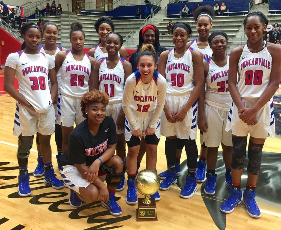 Pantherettes 6A state champs