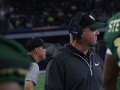 DeSoto Football Coach Todd Peterman