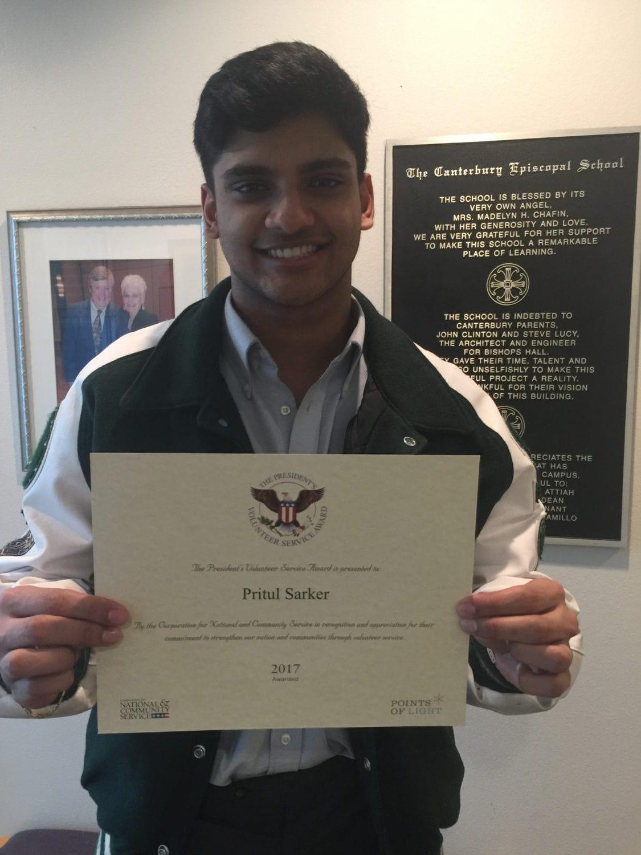 president's volunteer service award