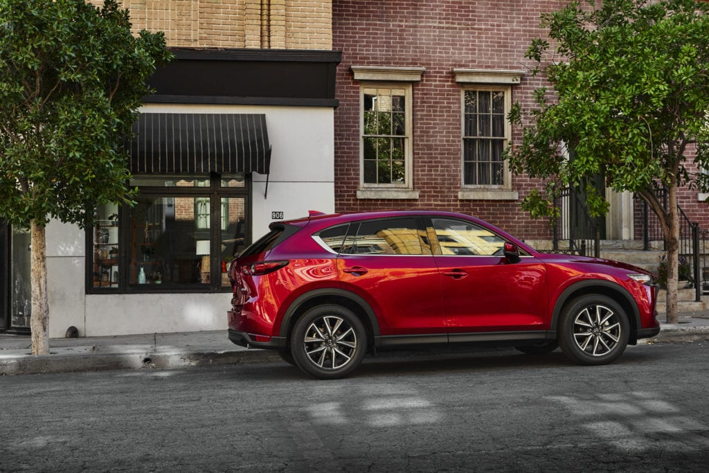 2018 Mazda CX5 Profile