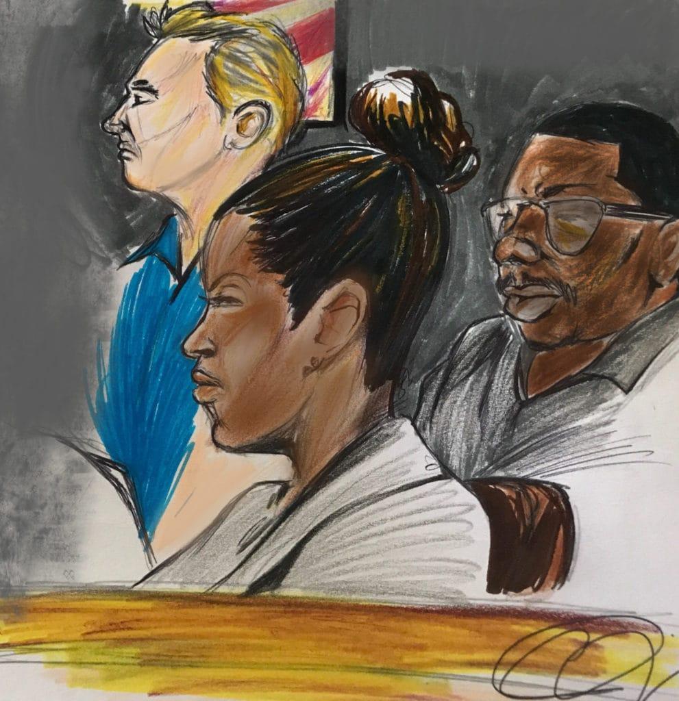 court sketch 2